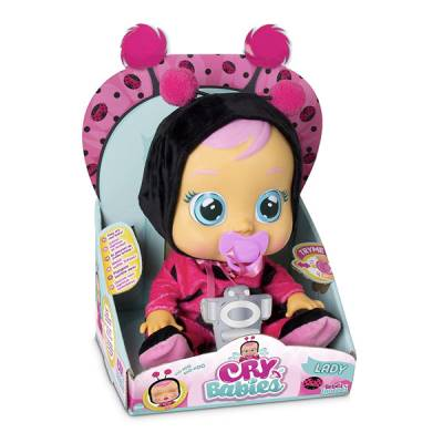 IMC TOYS CRY BABIES COCCINELLA