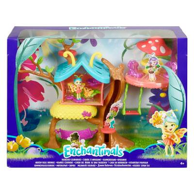 MATTEL ENCHANTIMALS ALBERO FARFALLE