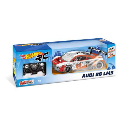 MONDO AUTO R/C HOT WHEELS AUDI R8 LMS 1:18