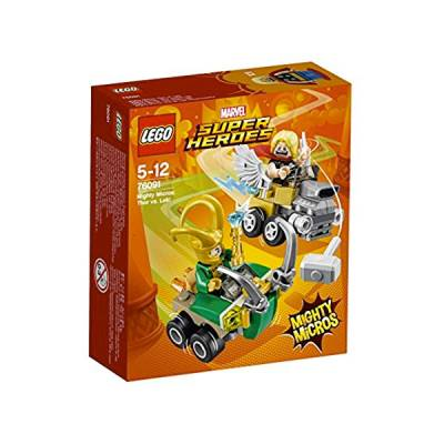 LEGO SUPER HEROES THOR MIGHTY MICROS LOKI