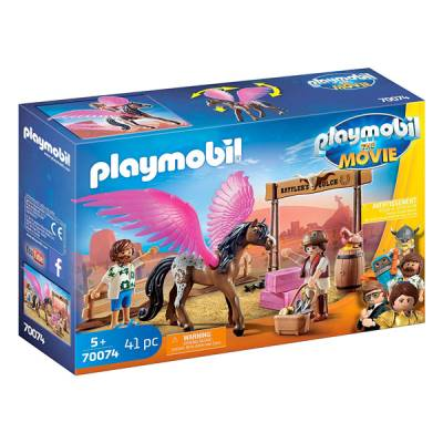 PLAYMOBIL THE MOVIE MARIA E DEL CON CAVALLO ALATO