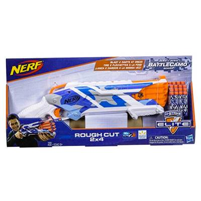 HASBRO NERF BATTLECAMO ROUGH CUT 2X4