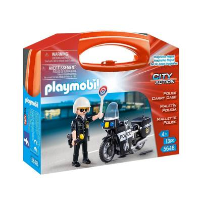 PLAYMOBIL POLICE CARRY CASE VALIGETTA POLIZIA
