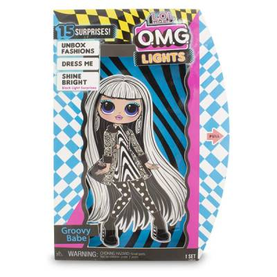 GIOCHI PREZIOSI LOL SURPRISE OMG LIGHTS FASHION DOLLS ASSORTITE