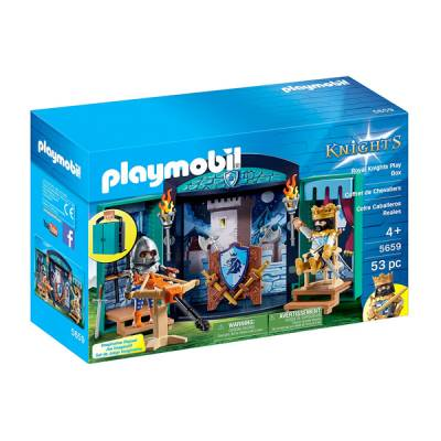 PLAYMOBIL BOX CAVALIERI