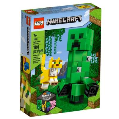 LEGO MINECRAFT CREEPER E GATTOPARDO