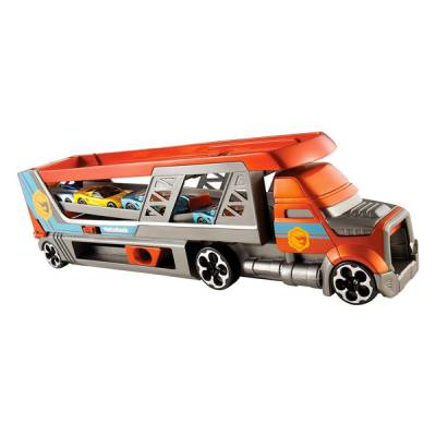 MATTEL HOT WHEELS CAMION PORTA AUTO 1:64