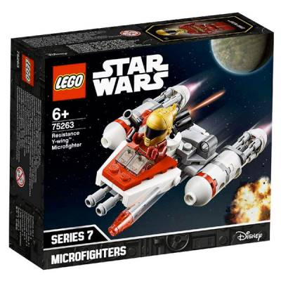 LEGO STAR WARS MICROFIGHTER Y-WING DELLA RESISTENZA