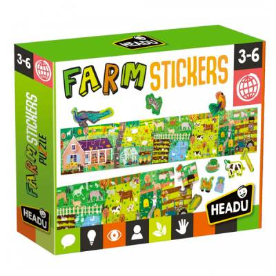 HEADU PUZZLE STICKERS THE FARM