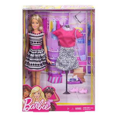 MATTEL BARBIE FASHION CON ABITO