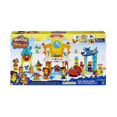 HASBRO PLAY-DOH TOWN CENTER 3 IN 1 STAZIONE POMPIERI