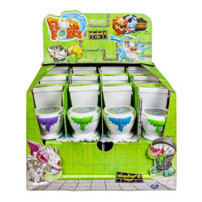 SPIN MASTER FLUSH FORCE SINGOLO WC DA 2 FLUSHIES