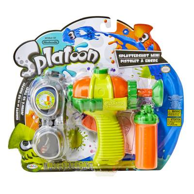 JAKKS PACIFIC SPLATOON MINI BLASTER SPARA-COLORE