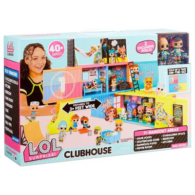 MGA ENTERTAINMENT LOL SURPRISE CLUBHOUSE PLAYSET