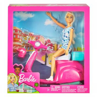 GIOCHERIA BARBIE CON SCOOTER