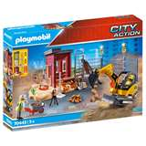 PLAYMOBIL ACTION CITY MINI ESCAVATORE CON CANTIERE