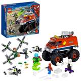 LEGO SUPER HEROES MONSTER TRUCK SPIDER-MAN VS MYSTERIO