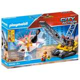 PLAYMOBIL CITY ACTION GRU CON BRACCIO DEMOLITORE
