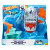 MATTEL HOT WHEELS ROBO SHARK CITY SQUALO ROBOTICO